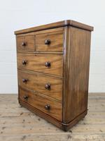 Victorian Mahogany Chest of Drawers (8 of 10)