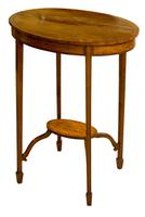 Pretty Oval Edwardian Table (3 of 8)