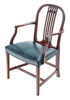 Set of 10 (8+2) mahogany dining chairs 19th Century (7 of 11)