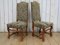 Set of Six Oak Os De Mouton Dining Chairs (2 of 9)