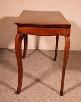 Italian Desk / Console In Walnut 18th Century (4 of 9)