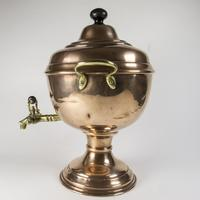 Victorian / Edwardian Copper & Brass Samovar (2 of 7)