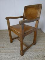 """Oak Armchair by """"Lizardman"""" Yorkshire (8 of 10)"""