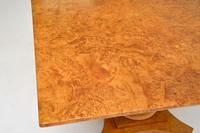 Antique Swedish Biedermeier Birch & Ebony Coffee Table (6 of 9)