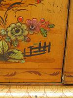 Antique Art Deco Chinese Painted Cabinet, Ornate Gold Decoration, Signed (3 of 28)