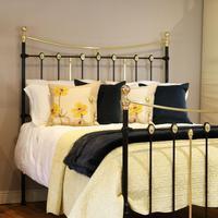 Decorative Antique Bed in Black (2 of 7)