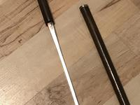 Gentleman's Walking Stick Sword Stick with Silver Handle (10 of 20)