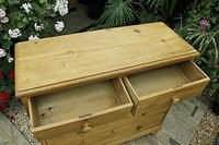Fabulous & Very Large Old Victorian Pine Chest of Drawers (6 of 8)