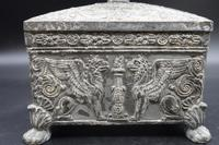 Beautifully Constructed Late 18th Century Rectangular Metal Box (5 of 6)