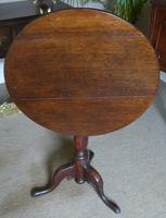 19th Century Oak wine table (5 of 6)