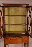A Late Victorian Salon Cabinet Satinwood (7 of 8)