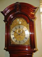 Scottish Georgian Cuban Mahogany Longcase Clock (2 of 10)