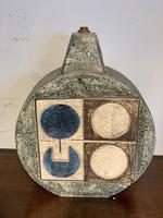 Troika Pottery Wheel Shaped Lamp Base (3 of 4)