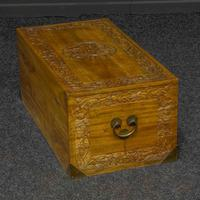 Mid 20th Century Camphor Wood Trunk (4 of 8)
