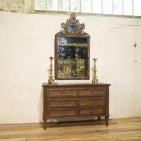 Louis XVI Period Original Painted Commode - Chest of Drawers (2 of 14)