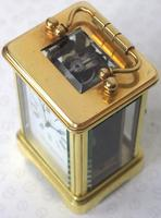 Antique Miniature 8 Day Carriage Clock by Walters & George Regent Street Rare (14 of 14)