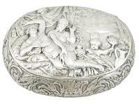 Dutch Silver Tobacco Box - Antique Circa 1690 (11 of 12)