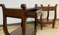 Vintage French Mahogany Bedside Tables (9 of 14)
