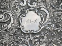 Victorian Silver Castle-top Card Case - St Luke's Church, Liverpool by Nathaniel Mills, Birmingham, 1845 (9 of 12)