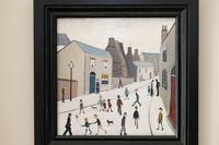 Naive Industrial Street Scene Oil on Board by Walker Scott (3 of 9)