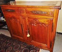 French provincial Louis XIV cherrywood buffet (2 of 12)