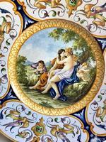 Italian Castelli Maiolica Charger, Large, Stunning, 18th Century (2 of 12)