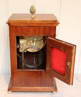 Mahogany Inlaid Mantel Clock (7 of 10)