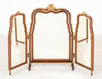 Quality Queen Anne Style Walnut Dressing Table & Mirror c.1920 (14 of 14)