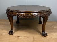 Mahogany Coffee Table - Circular (6 of 6)