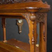Late Victorian Mahogany Sideboard (6 of 19)