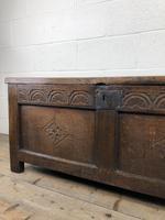Early 19th Century Antique Oak Coffer Blanket Box (15 of 19)