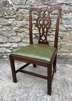 Set of 6 Georgian Mahogany Dining Chairs (6 of 21)