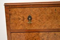 Antique Burr Walnut  Chest on Cabinet (4 of 12)