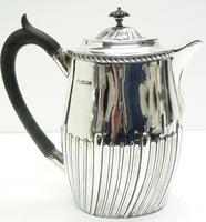English Antique Solid Silver Hot c.1901 (5 of 8)