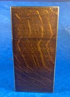 Victorian Brassbound Oak Decanter Box (12 of 20)