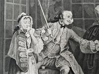 William Hogarth, Marriage-A-La-Mode, Plate 3, Engraved 1745, Original print (2 of 8)