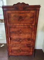Continental Flame Mahogany Cabinet