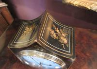 Small Antique Chinoiserie Gilt Mantel Clock (3 of 7)