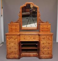 19th Century Satin Birch Dressing Table (2 of 14)