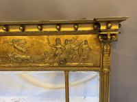19th Century Large Gilt Overmantle Mirror (3 of 16)