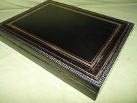 Fine Quality French Inlaid Games Box c.1860 (6 of 10)