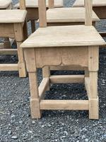 Set 8 Oak Farmhouse Dining Chairs (3 of 14)