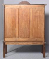 Antique Chinese Chippendale Mahogany Display Cabinet (13 of 13)