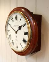 Mahogany 10' Fusee Dial Clock (6 of 12)