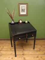 Antique Painted Black Clerks Desk (17 of 17)
