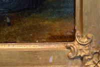 Late Regency Miniature Oil of a Lady (6 of 7)
