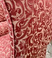 Victorian Mahogany Framed Wing Armchair (15 of 15)