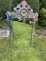 Venetian Mirror with Clock (4 of 6)
