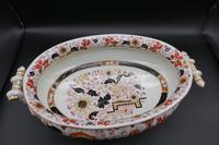Attractive Early 20th Century Oval Tureen (2 of 6)