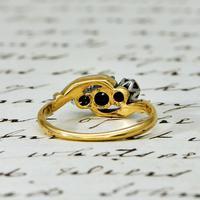 The Vintage Illusion Twist Brilliant Cut Diamond Ring (5 of 5)